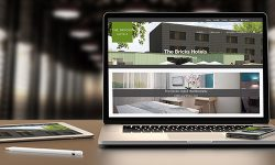 THE BRICKS HOTELS website now in German & English and with new logo