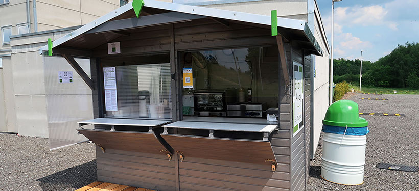 New opening of the Snack Away snack bar in Marktredwitz-Lorenzreuth
